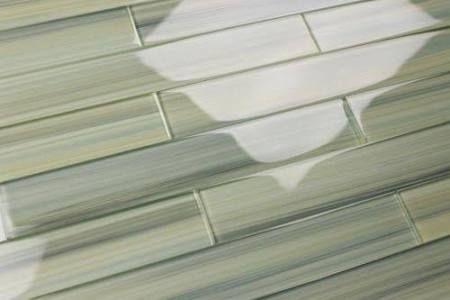 pale green glass tile backsplash - Google Search Ideas for the