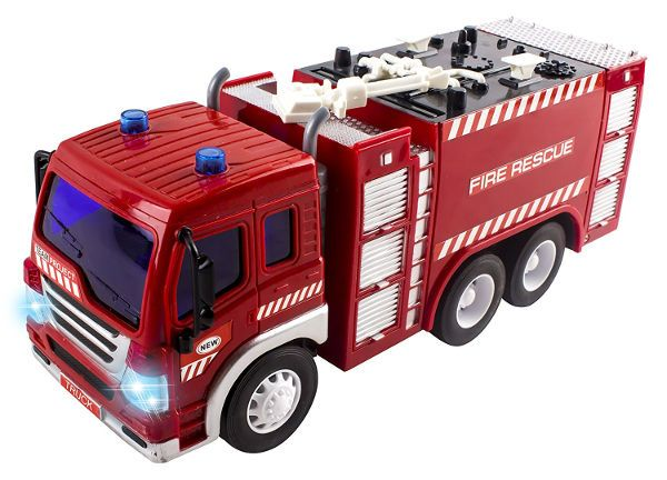 29fb05d3810 Vokodo Remote Control Fire Truck Toy - RC Toy Truck | Toy Fire ...