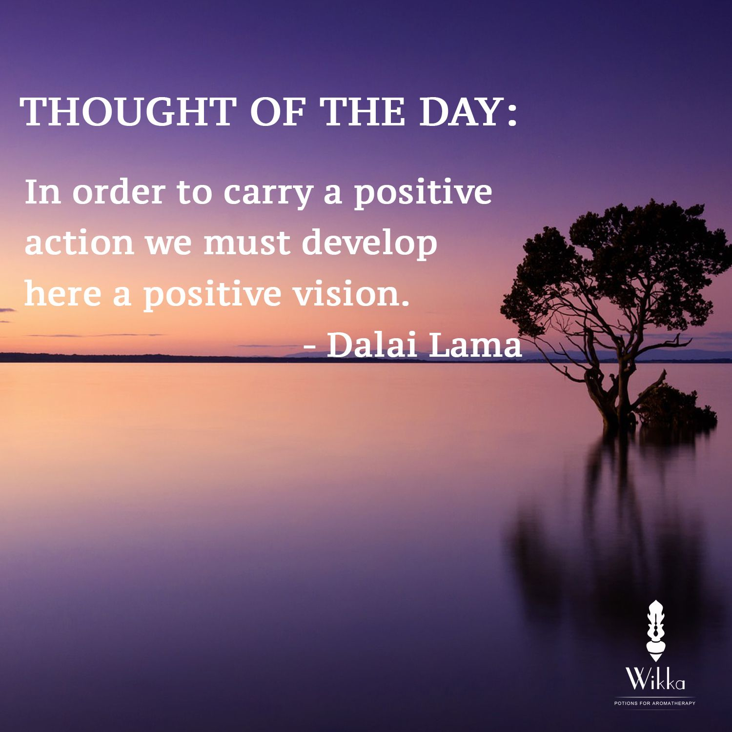 Thought Of The Day Motivational Thought Of The Day In Order To Carry A Positive Action Was Must