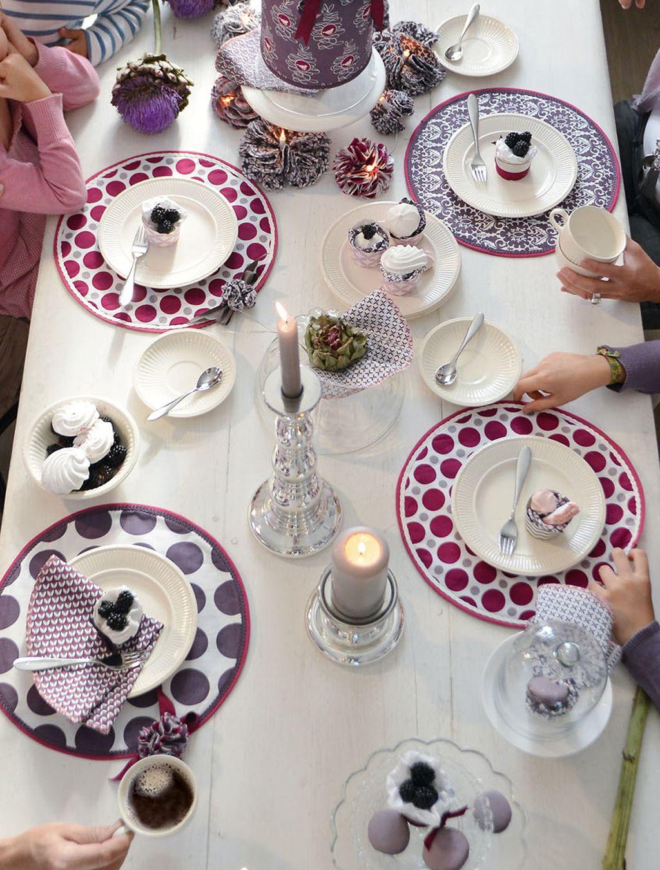 Tisch-Ideen: Tischsets und Servietten selbst genäht #tischsetnähen