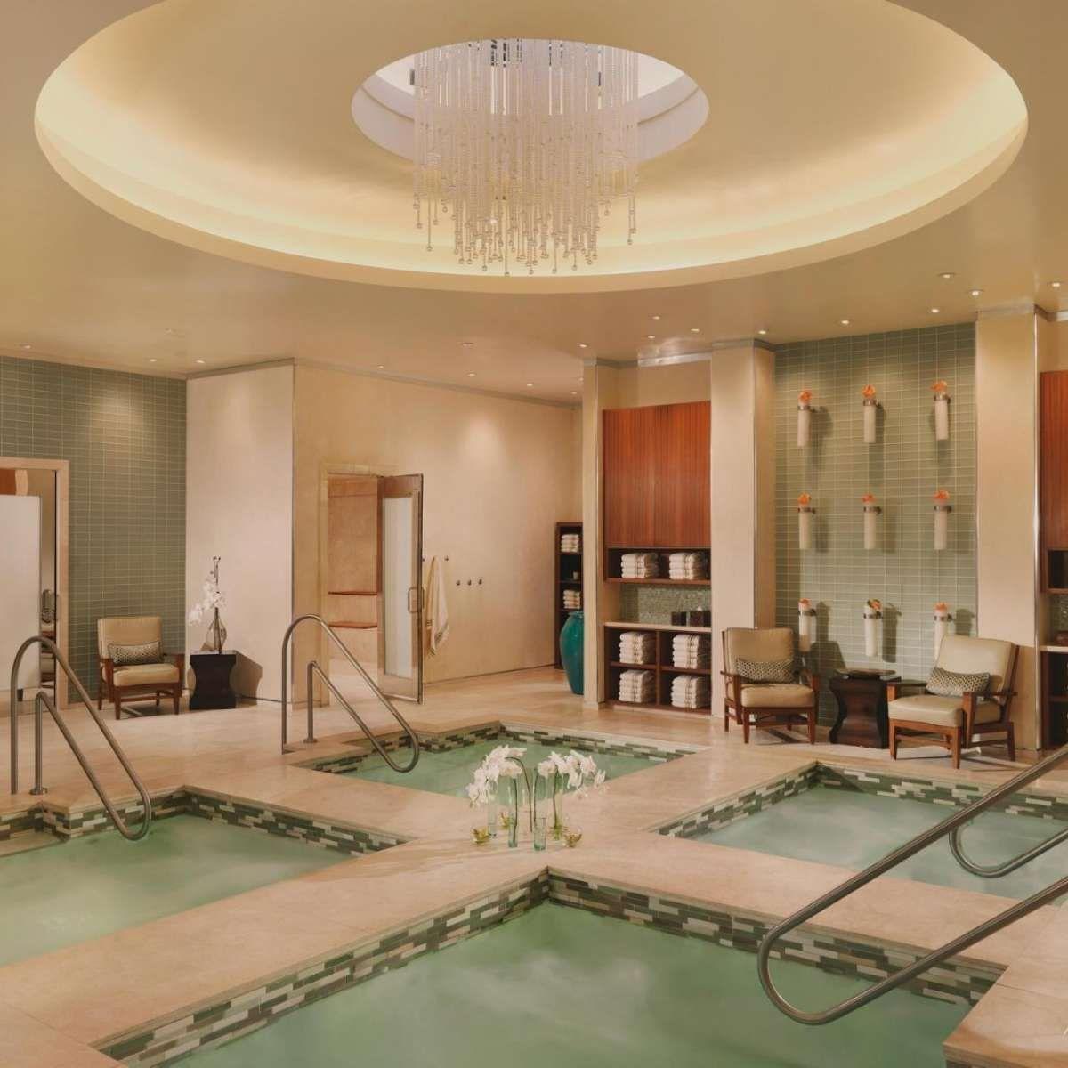 Salon spa fitness center bellagio hotel casino day for Salon spa