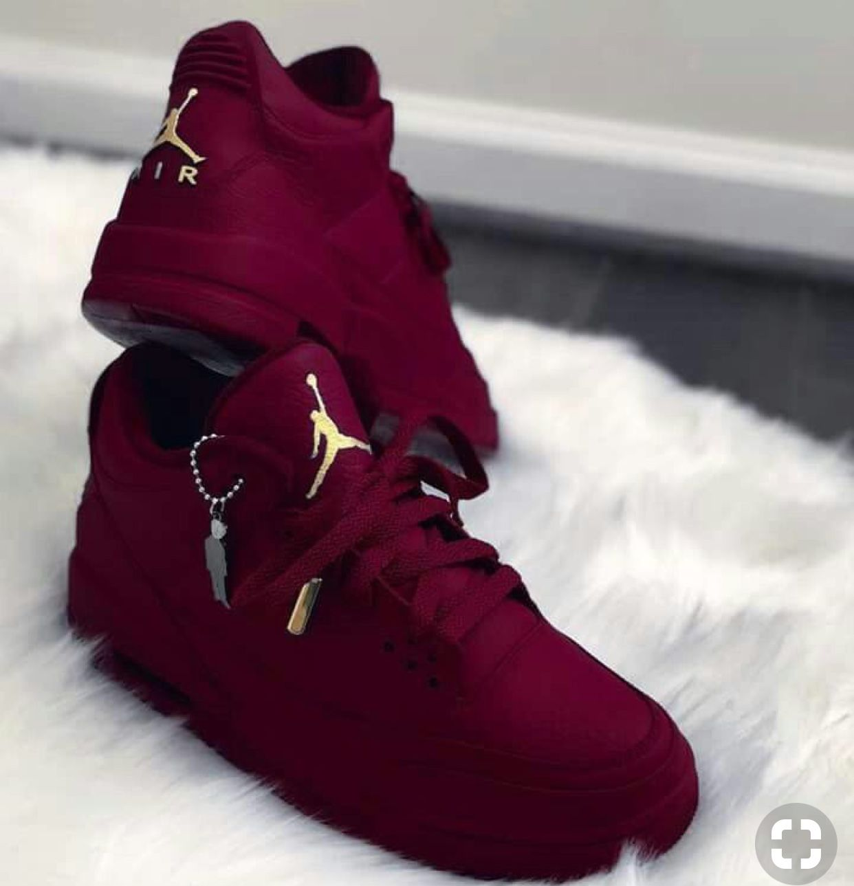 red burgundy Jordan shoes  ee9310ce43