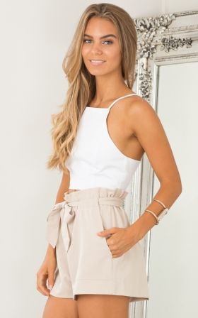 All Rounder shorts in beige
