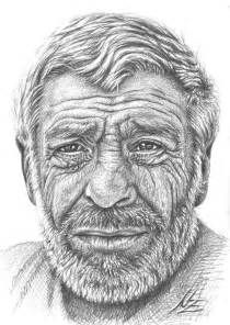 Old Man Face Drawings Easy With Images Face Art Male Face