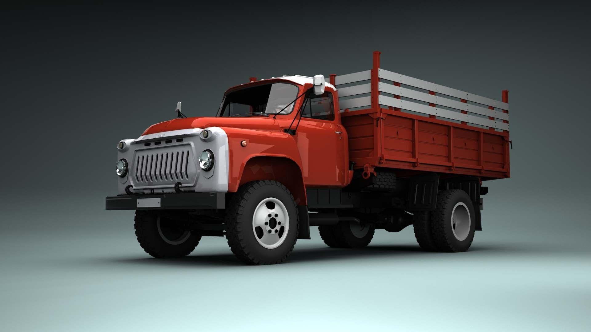 окрашенную картинки грузовиков газ красносельской
