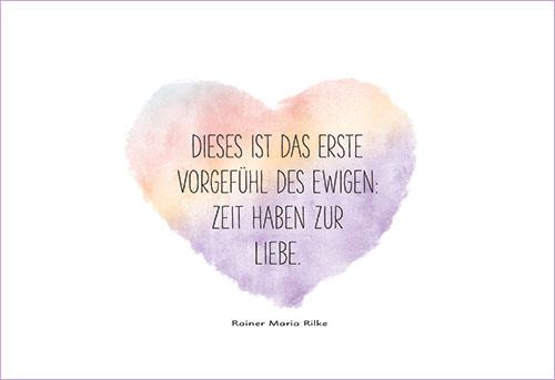 Rilke gedichte glück Rainer Maria