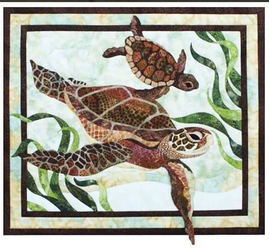 Quilt Pattern Toni Whitney Design Sea Turtles