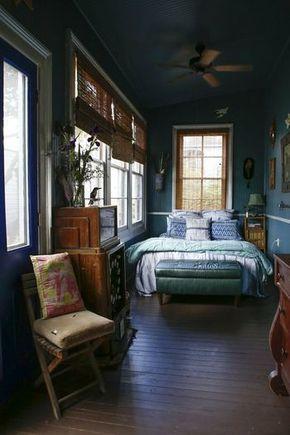 狭い部屋のレイアウトは海外インテリアに学ぶ 4畳や1kの一人暮らしさんへ キナリノ 海外インテリア ベッドルーム 部屋 レイアウト インテリア 家具