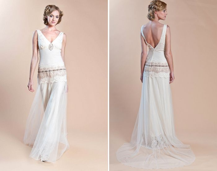 Wedding Gowns Inspired By Downton Abbey Claire Pettibone Haviland Via All Sorts Of