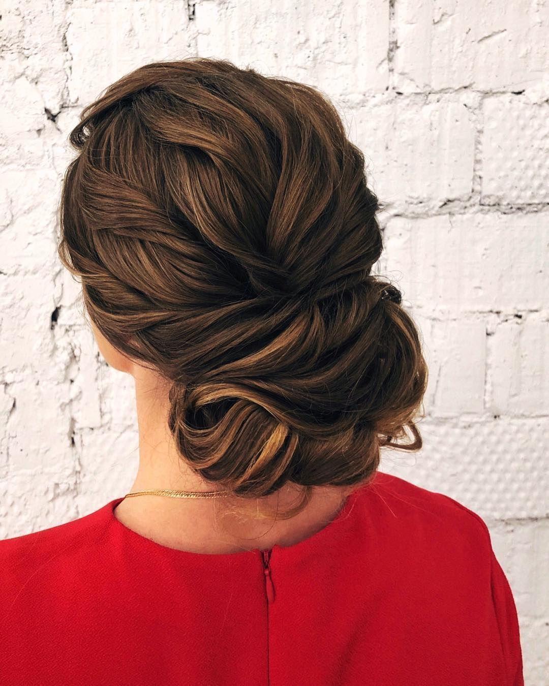 Textured updo updo wedding hairstylesupdo hairstylesmessy updos