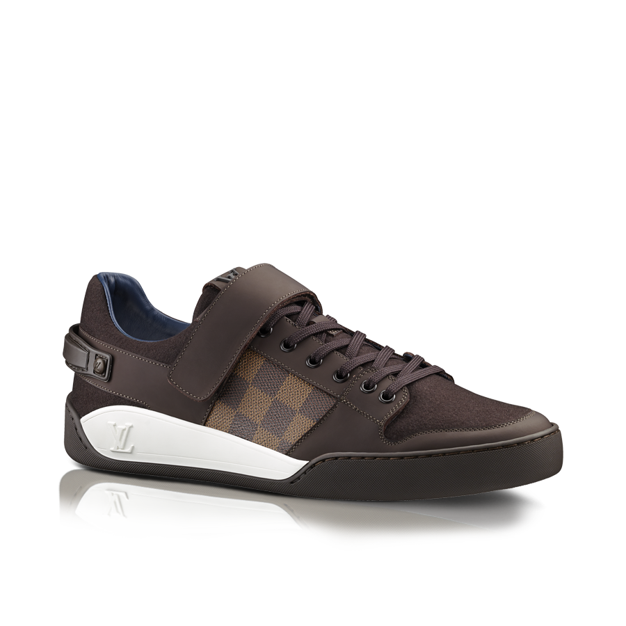 design intemporel 9e486 25581 Sneaker Elliptic en toile Damier et flannelle via Louis ...