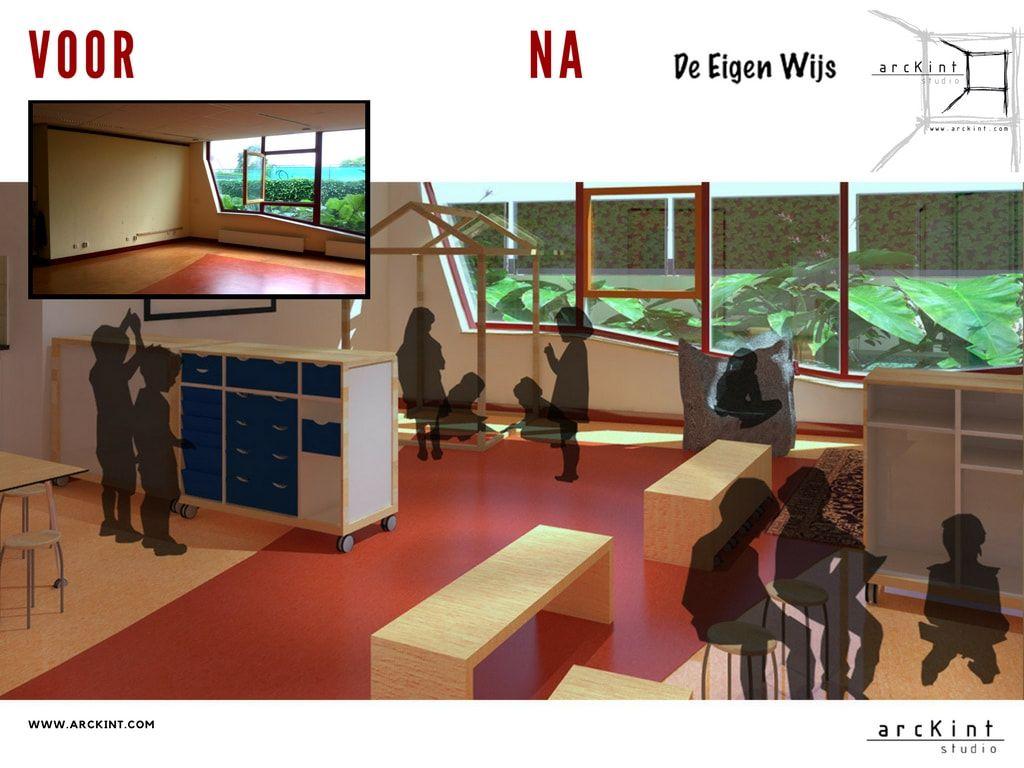 Een ruimte waar basis onderwijs en opvang hand in hand gaan met