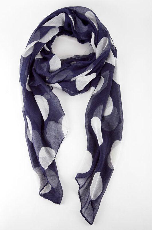 a2c7e8b01719aa Spotty Scarf by i.cco via tobi ~ #tobi #polka-dot #scarf   Style ...