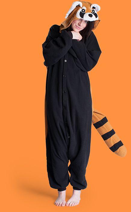 Image of: Kigurumi Pajamas Red Panda Onesie Red Panda Kigurumi Red Panda Costume Red Panda Suit Fdccla Red Panda Onesie Red Panda Kigurumi Red Panda Costume Red