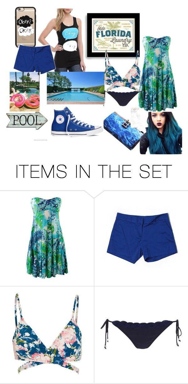 """""""going on a trip to florida"""" by bellabear8803 ❤ liked on Polyvore featuring art"""
