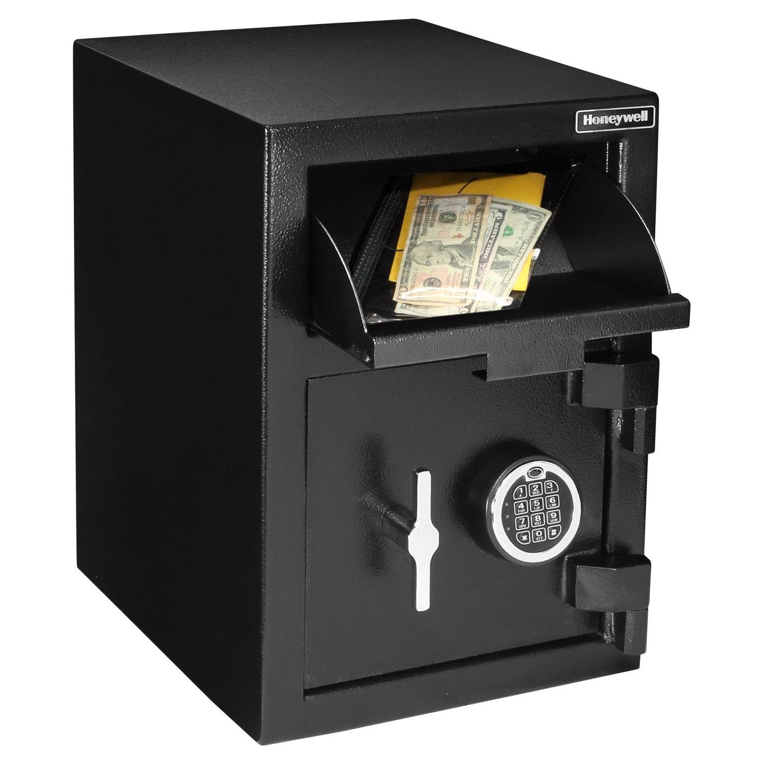Honeywell Model 5912 Steel Digital Depository Security