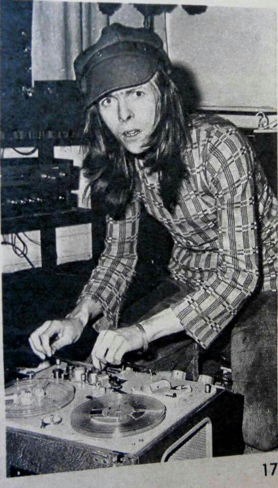 DB during his hippie days, Lady T.