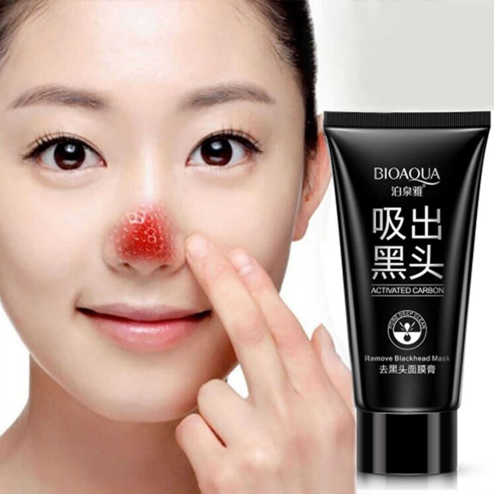 291 Gbp Charcoal Blackhead Remover Peel Off Facial Cleaning Black Bioaqua Activated Carbon Mask Face 60ml Ebay Fashion