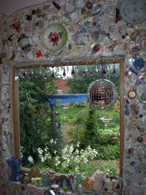 a beautiful mosaic garden room   In the garden   Pinterest   Mosaic ...