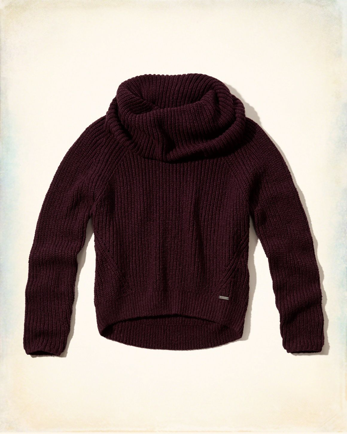 Open Stitch Hooded Cardigan | Cowl neck, Hollister and Fall winter ...