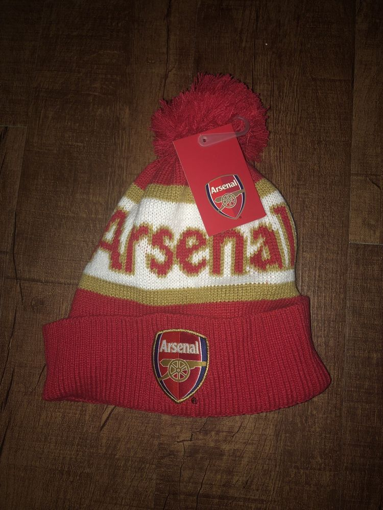 f33863cb252 Mens Arsenal Pom Hat NWT  fashion  clothing  shoes  accessories   mensaccessories  hats (ebay link)