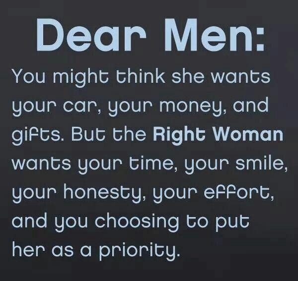 when a man appreciates you