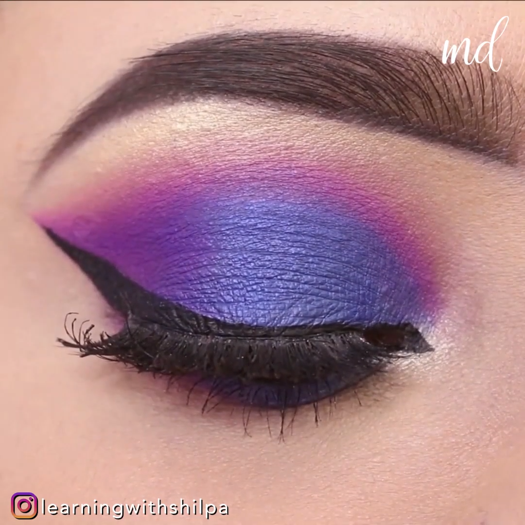 PURPLE & PINK EYE MAKEUP