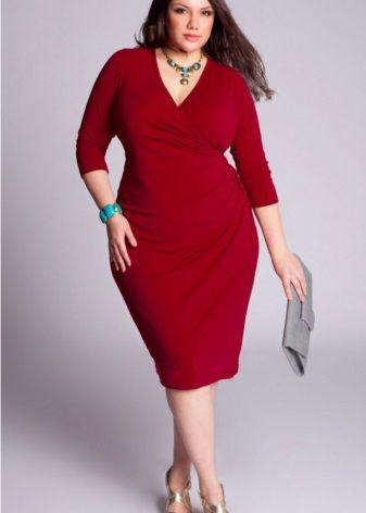 Vestido rojo para mujer