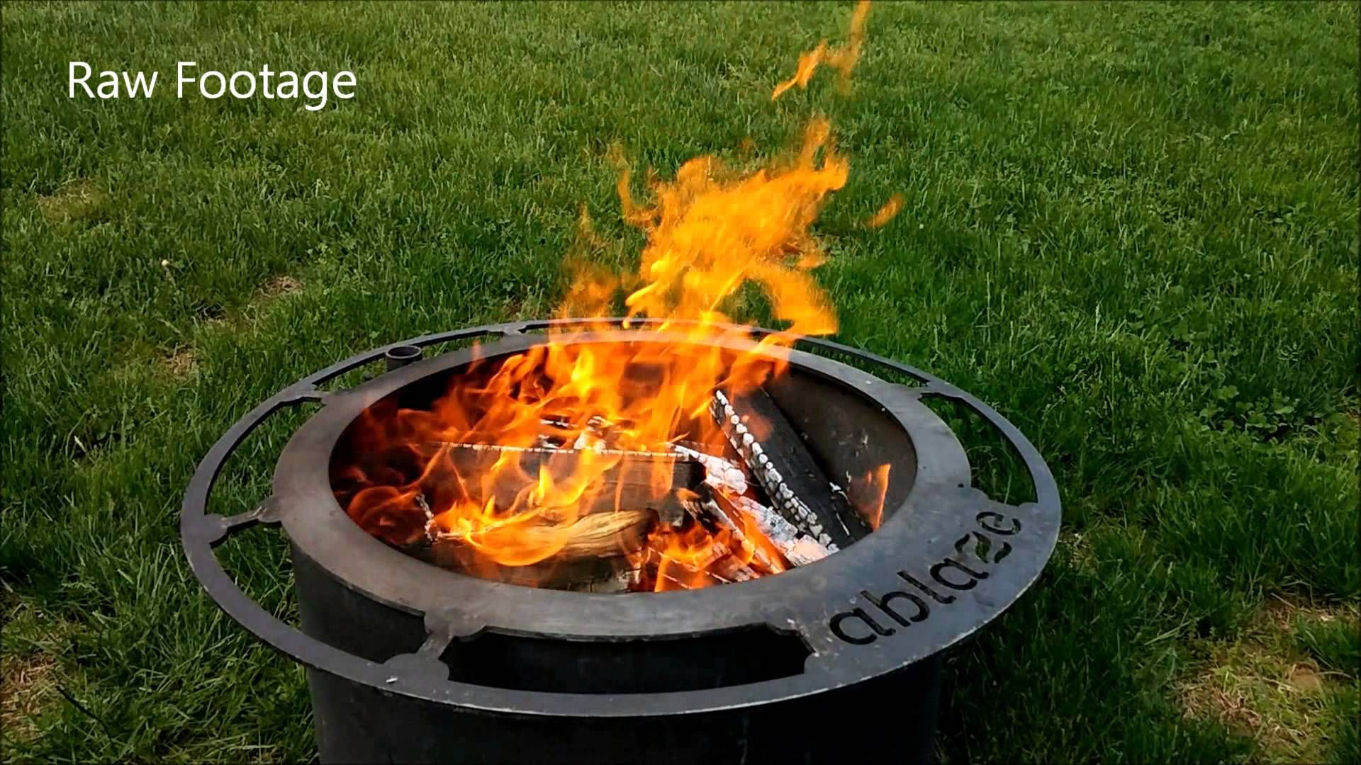 love wood fires but hate the smoke check out the ablaze fire pit