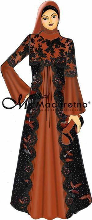 7104a603e4600 Gamis elegant | Elbise modelleri | Pinterest | Abayalar, Elbiseler ...
