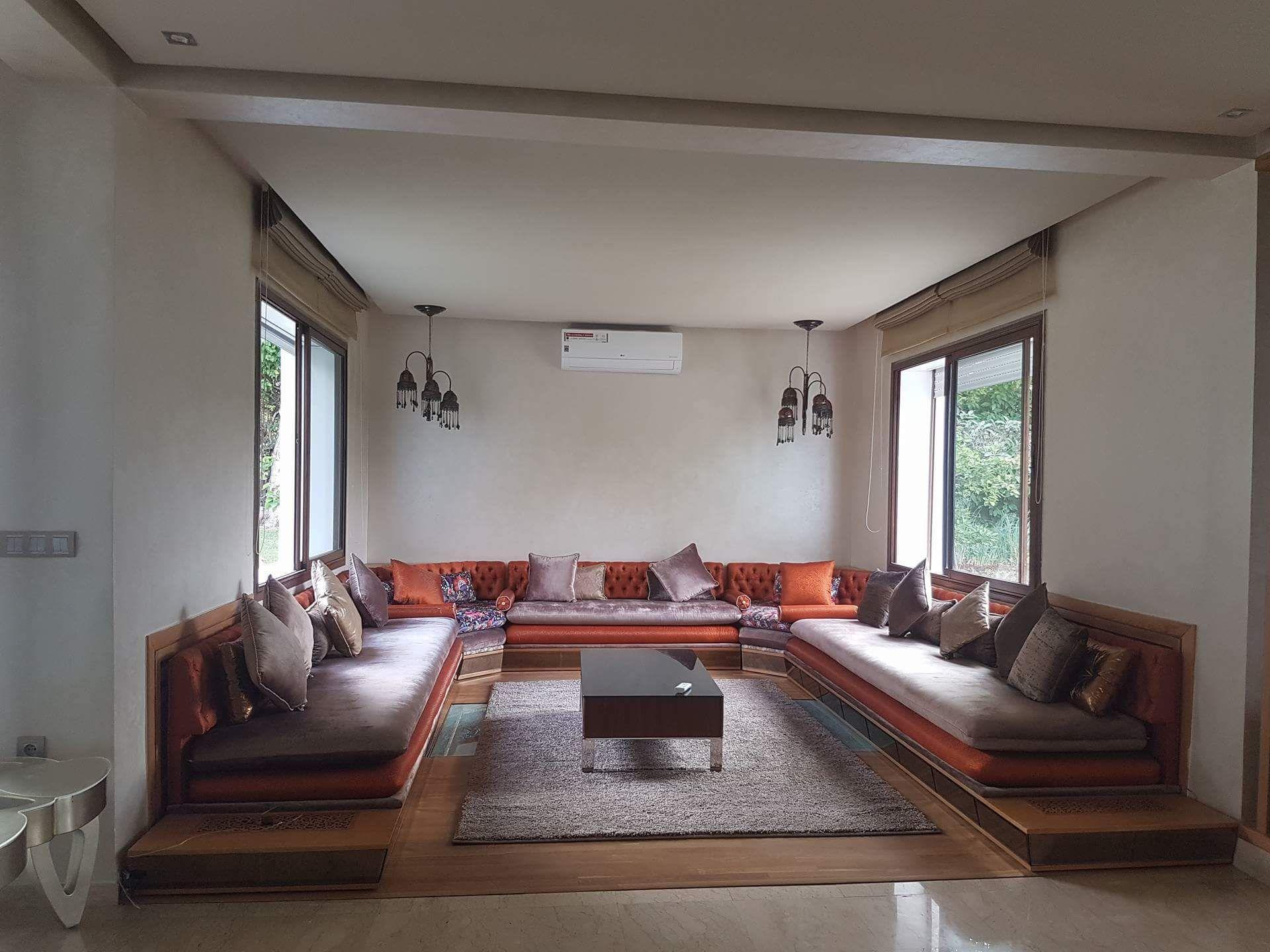 Salon moderne – salon marocain moderne – deco – Intérieur sur ...