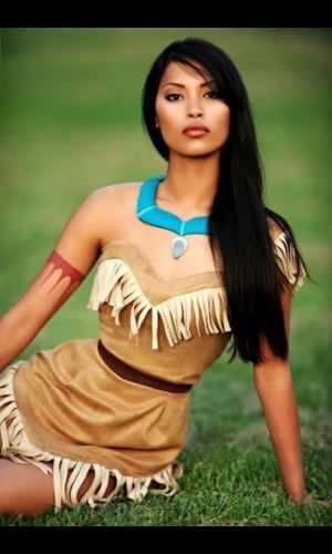 pocahontas disfraz buscar con google disfraces hallowen pinterest kost m schminke und. Black Bedroom Furniture Sets. Home Design Ideas