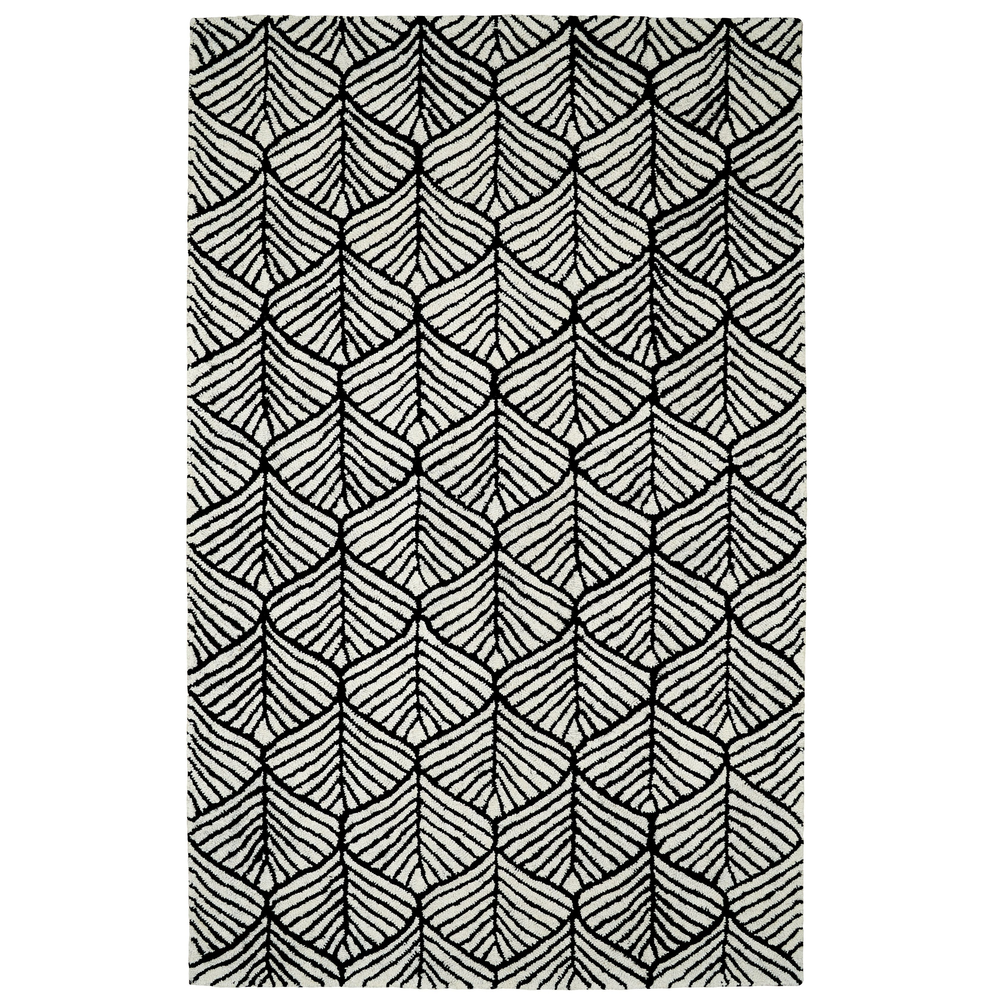 Dynamic Rugs Palace Black White Geometric Area Rug Reviews Allmodern Dynamic Rugs Geometric Area Rug Affordable Area Rugs