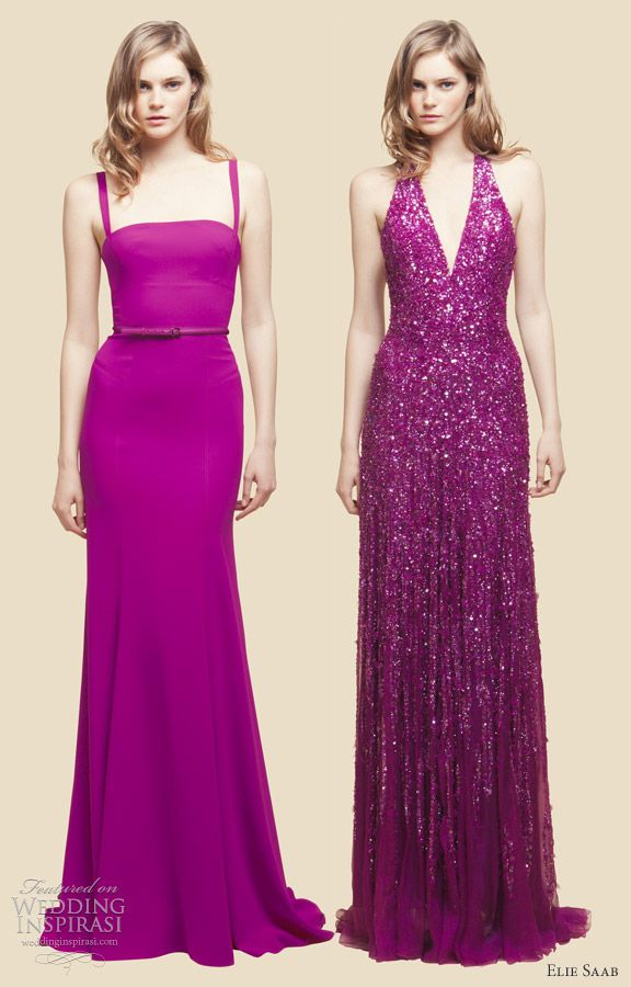 Elie Saab 2012 Resort Collection | Vestiditos, Magenta y Vestidos de ...