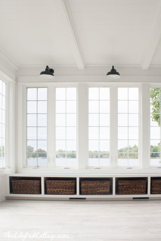 The Sunroom Is Done Ish Sunroom Decorating Window Seat Kitchen