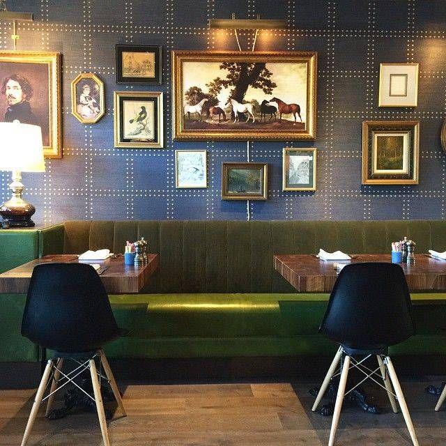 Interior, Cafe Interior, Best