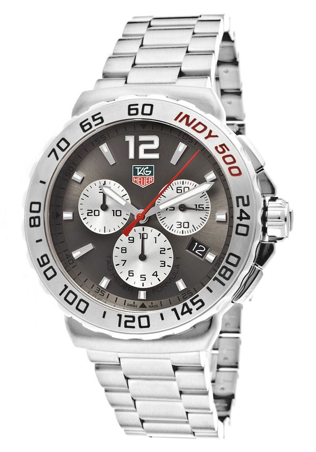 Price:$1239.00 #watches Tag Heuer CAU1113.BA0858, Sporting an intricate design and subdial system, this bold Tag Heuer chronograph is precise on time and measurement.