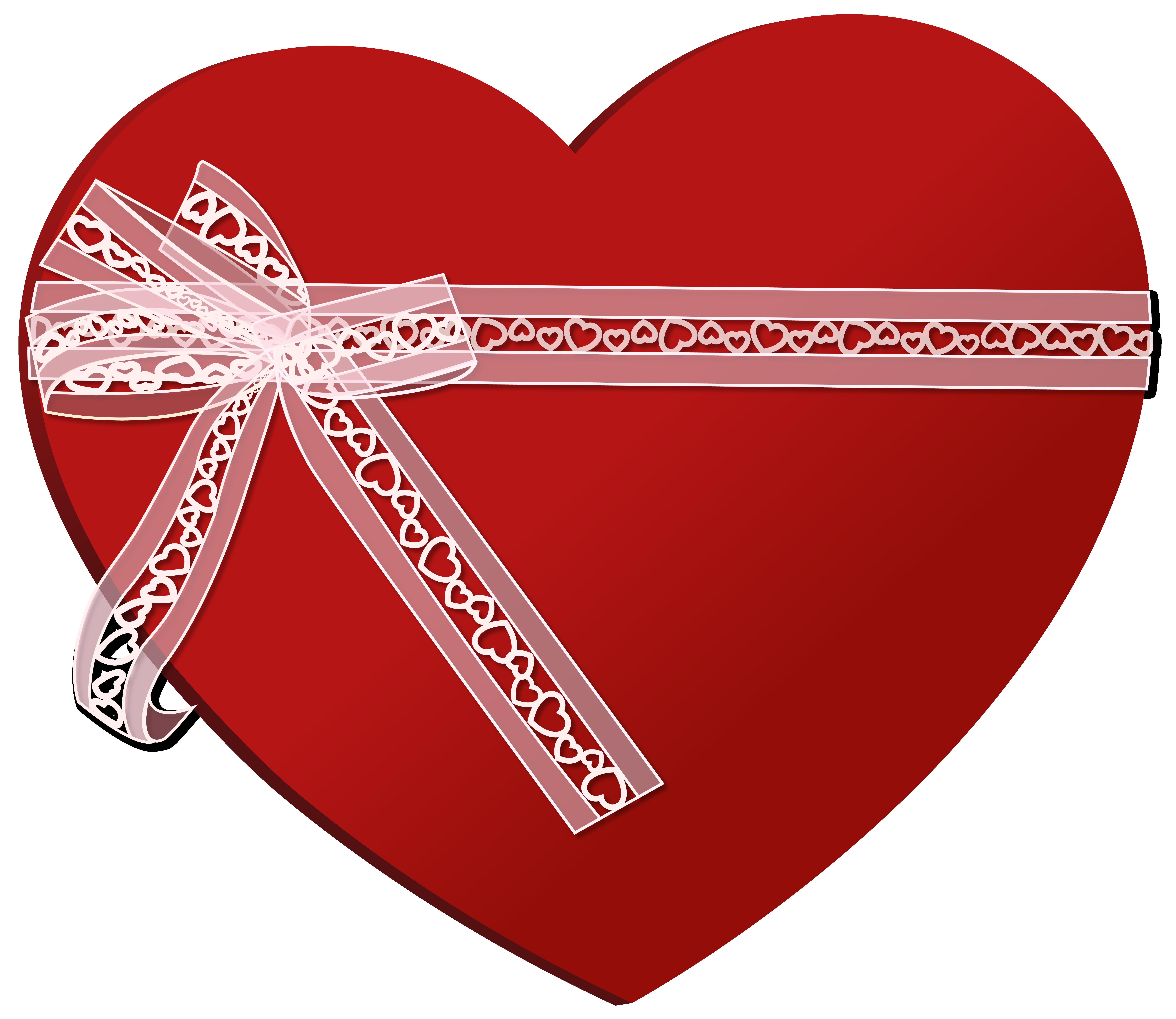 Pin Alfaith Poblete Hearty Ribbon Clip Art