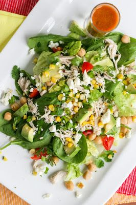 See Brooke Cook: Healthy Chopped Salad with Jalapeño Lime Dressing