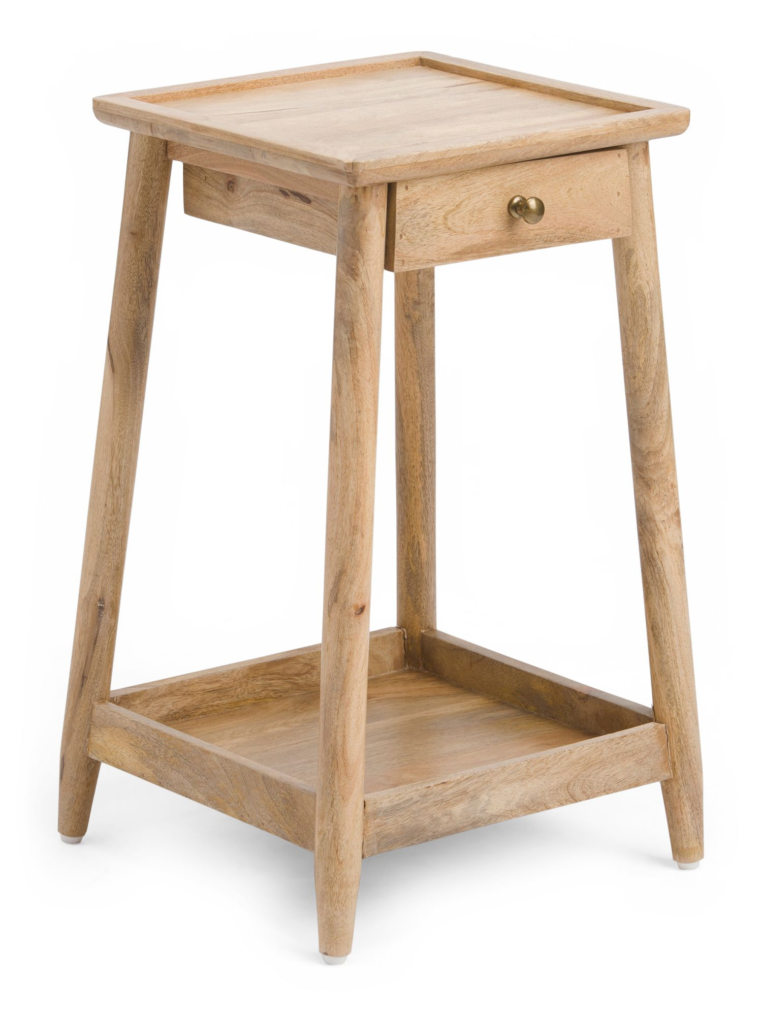 Carroll one drawer end table end tables accent