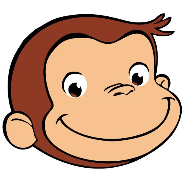 picture relating to Curious George Printable identified as The290ss: Do-it-yourself: Curious George Centerpiece with no cost