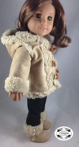 Chilly Day Sherpa Coat And Boots 18\