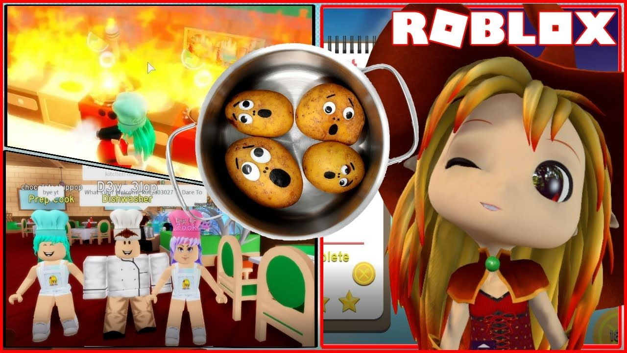 to my Chaotic Kitchen! Roblox Dare To Cook! in