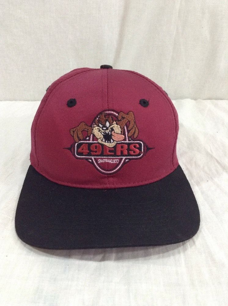 San Francisco 49ers Hat Taz Looney Tunes Drew Pearson SnapBack Cap   DrewPearson  BaseballCap 7d6597909