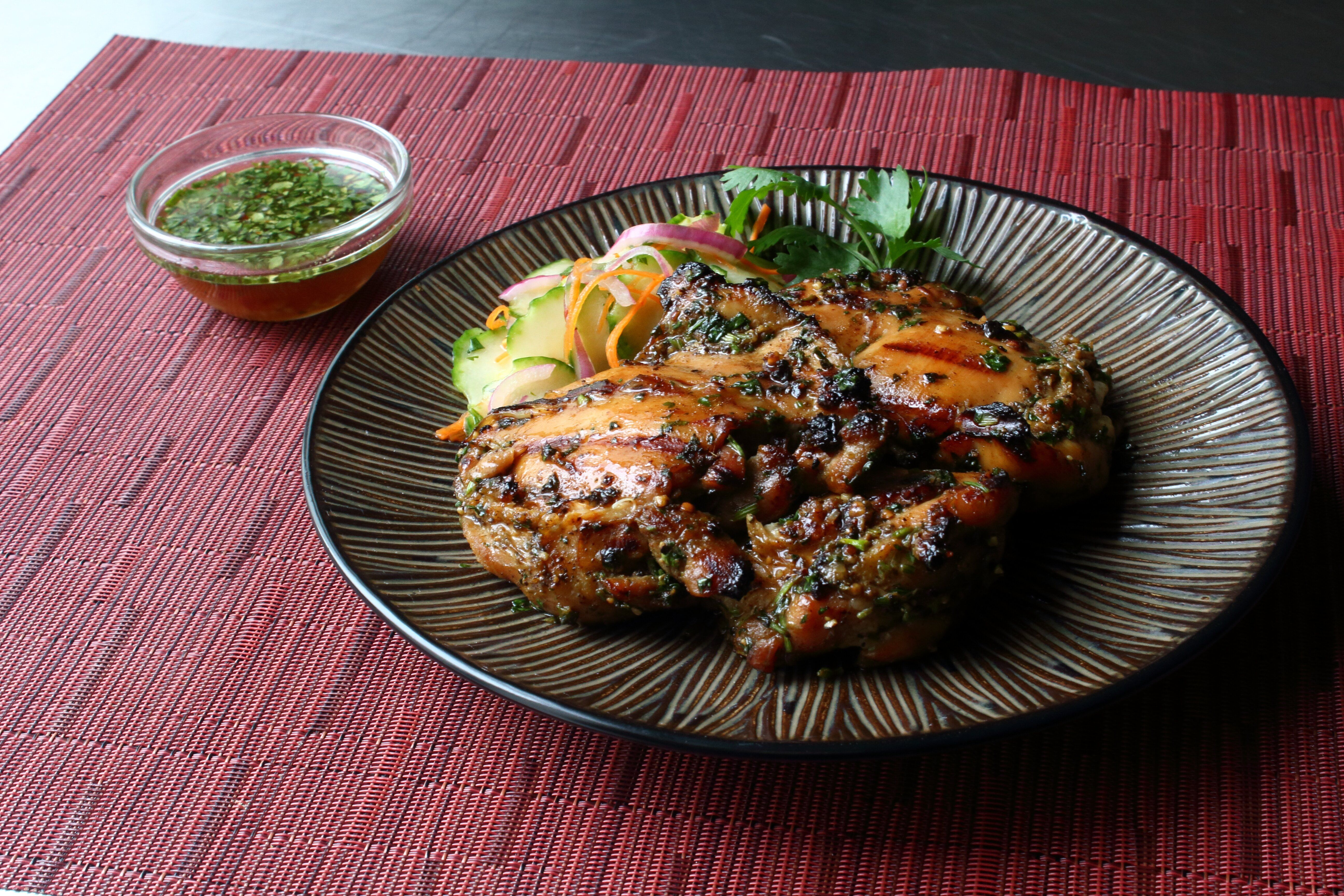 Laotian Grilled Chicken Ping Gai Recipe Recipes Chef John Recipes Grilled Chicken