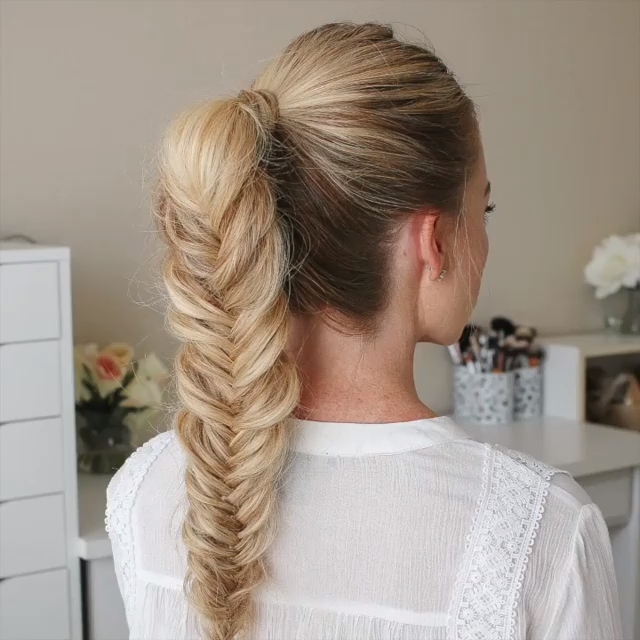 Halloween Hair Ideas 2018/ How to do a glueless bang+ fishtail Ponytail. Spooky Sale is on nadula.com from Oct.12- Oct. 19. Go check!