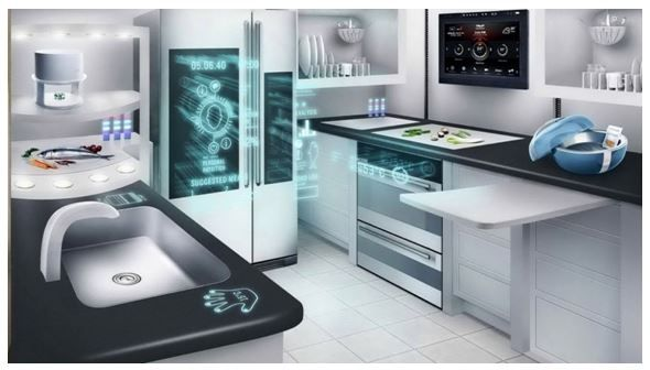 Rentseeker List Of Cool New Products And Hi Tech Gadgets For Apartment Dwellers Kitchen Technology Kitchen Tech Futuristic Home