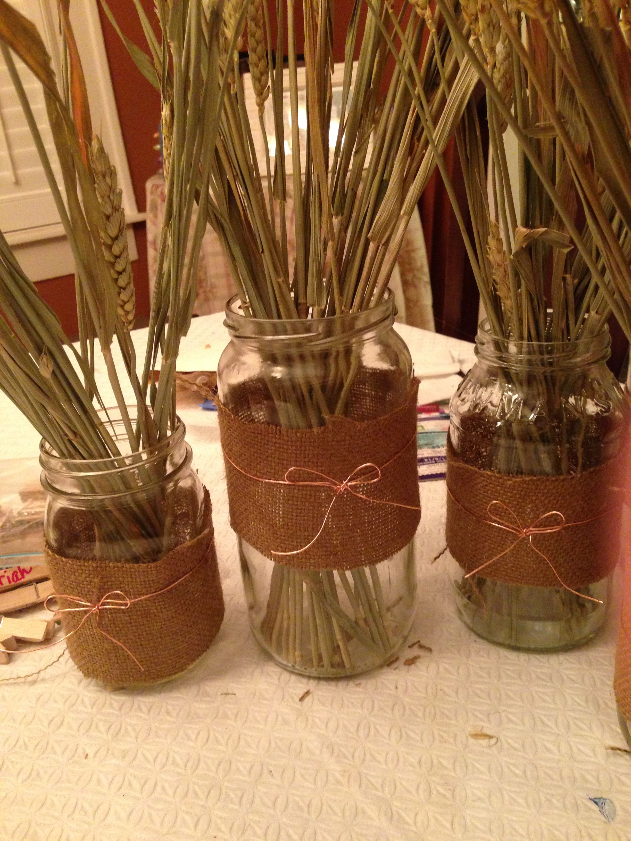 Thanksgiving centerpieces i knew i was saving all my pickle and