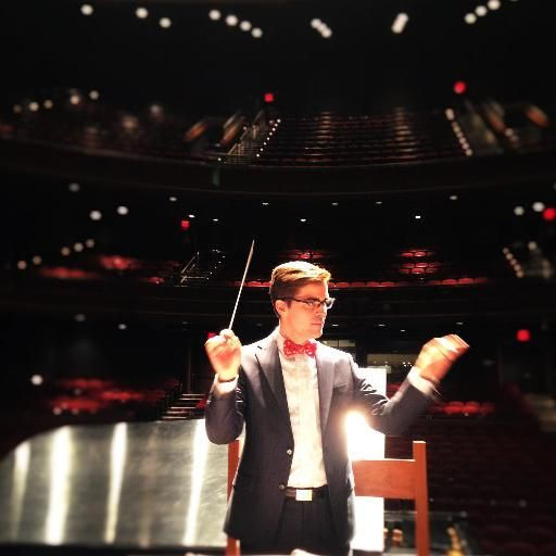 Conductor Luke Frazier. Photo courtesy of The American Pops.