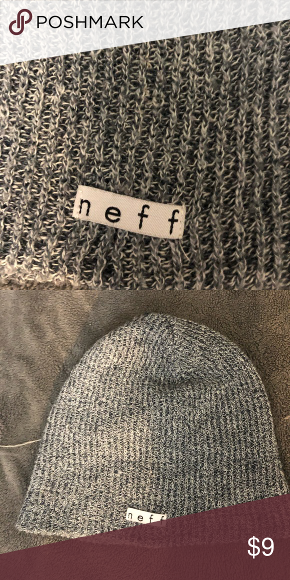 5373d63bc49 neff beanie grey knitted neff beanie will wash before sending! in perfect  condition! open